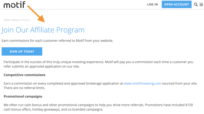 Motiv-Partnerprogramm