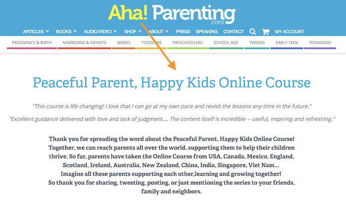 Aha! Elternteil-Partner
