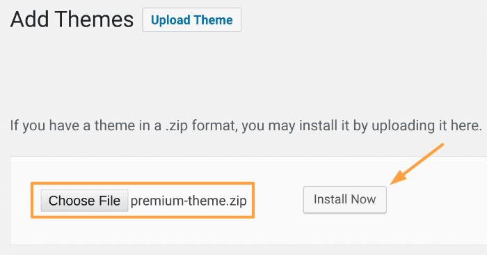 Starten Sie ein Blog - Premium WordPress Theme-Optionen