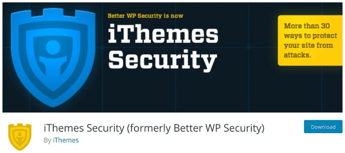 iThemes-Sicherheits-Plugin