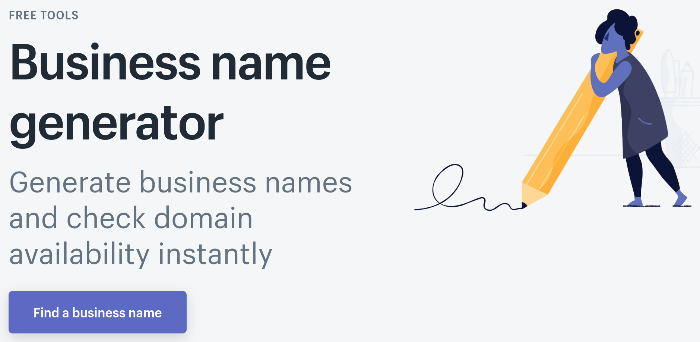 Blog Name Generator shopify Unternehmensname Generator
