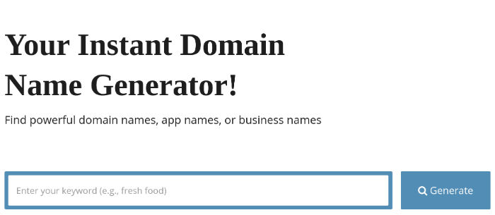 blog name generator softwarefindr