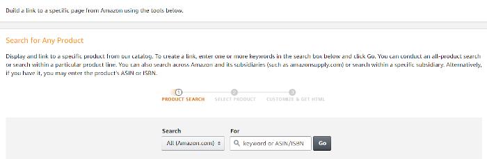 Produkt Suche