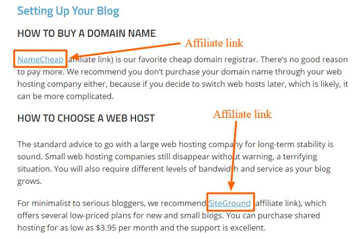 Smart Blogger-Partnerlinks