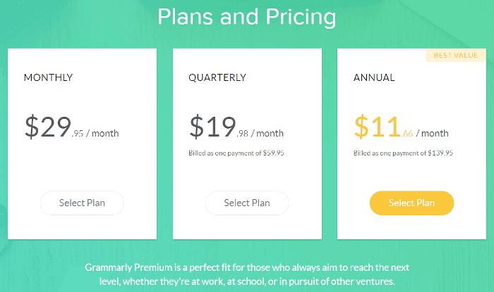 Grammatischer Rückblick: Aufschlüsselung der Preise