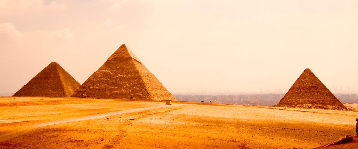 Pyramiden in Egpyt