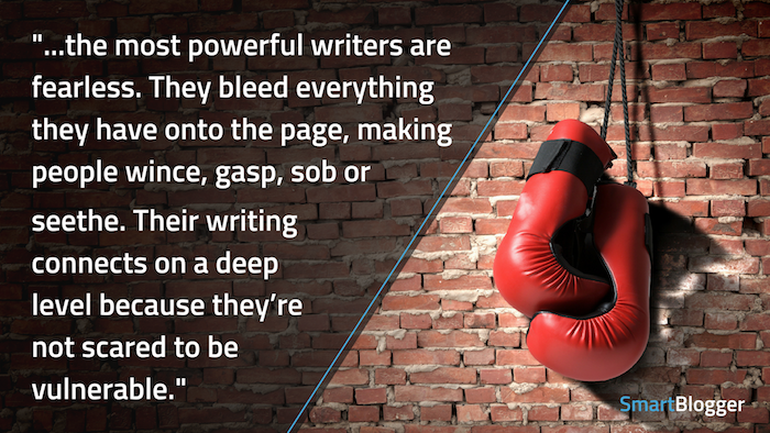 mächtige Schriftsteller sind furchtlos