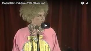 Phyllis Diller Fette Witze
