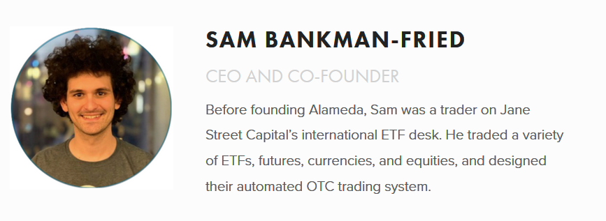 CEO von FTX Cryptocurrency Exchange