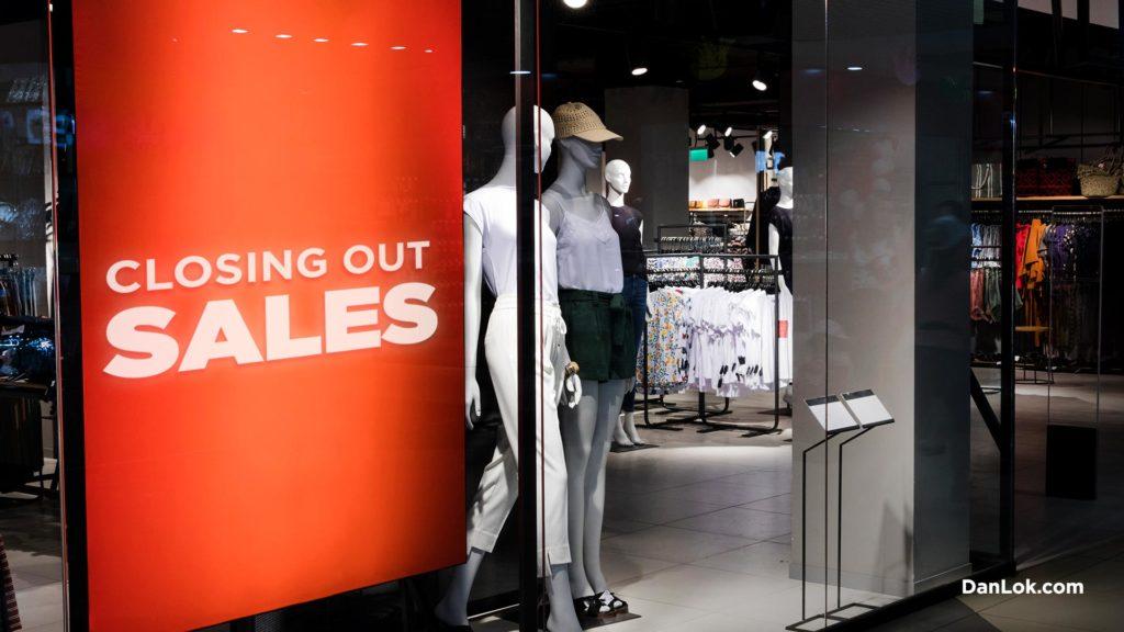 Ladenschließung wegen Einzelhandelsapokalypse